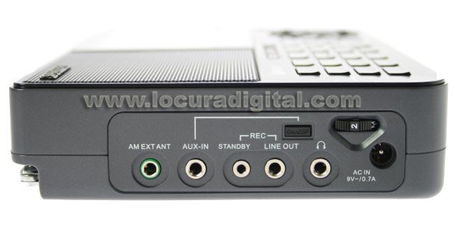 Sangean ATS-909X noire