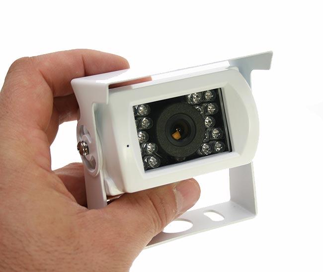 BARRISTER BRV411 camara color sistema marcha atrás visión nocturna.Color Blanco