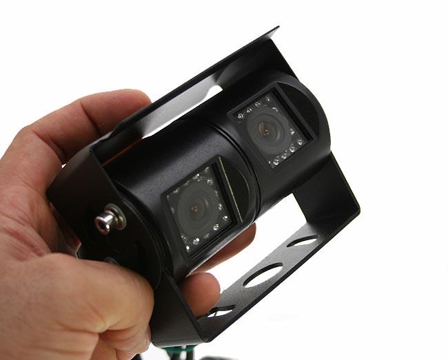 BARRISTER BRV463 doble cámara de visión trasera