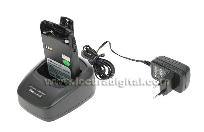 CA7200 ALAN MIDLAND cargador sobremesa walkies CT-200, 400 y CT-210, 410