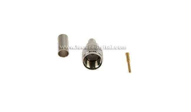 MINI UHF connecteur mâle CON1444 pour RG-58 à sertir