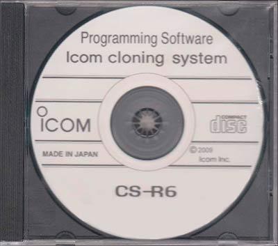 CS-R6 CSR6 ICOM IC-R6 logiciel
