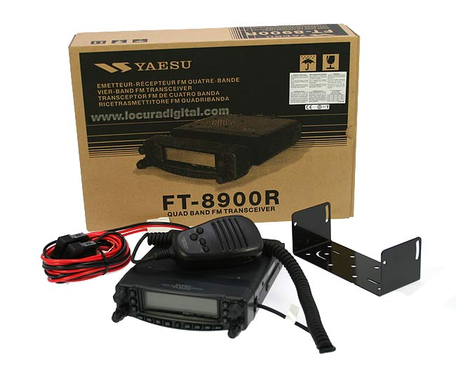 YAESU FT 8900 E EMISORA MULTIBANDA 29/ 50/ 144/ 430 mhz