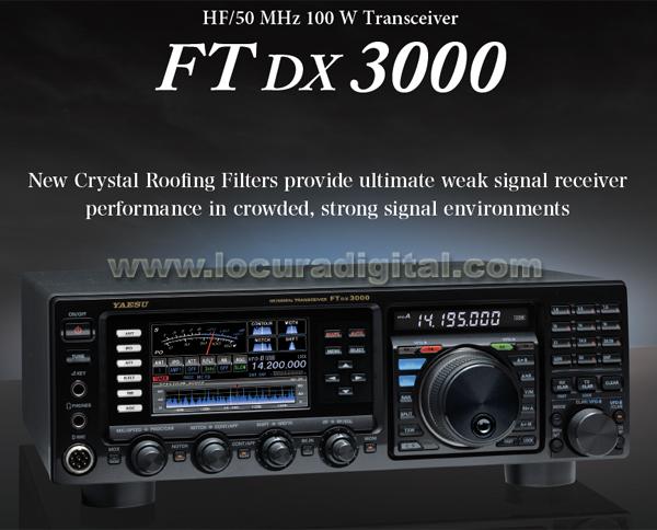 yaesu ft dx 3000 hf/50 mhz