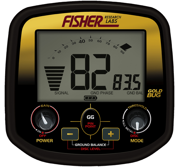 FISHER GOLD BUG PRO19
