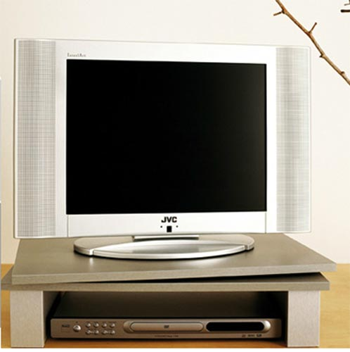 Support GV1SILVER rotary screen TV + VIDEO 60 cms x 38 cms. SILVER