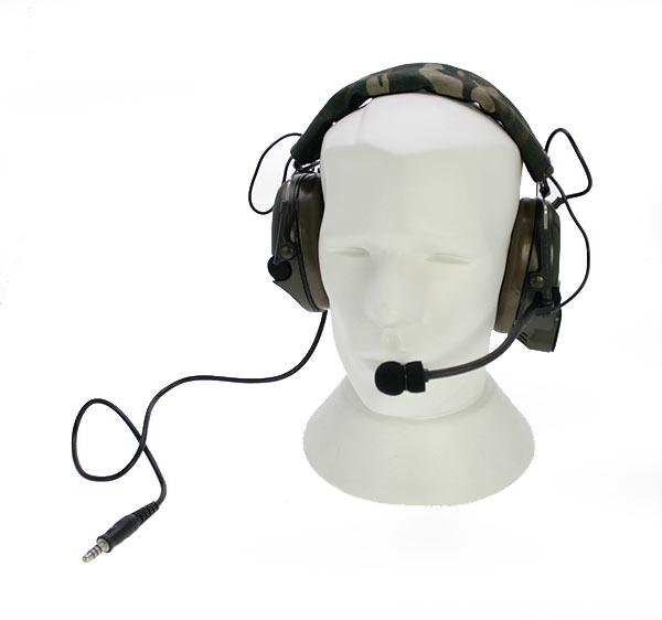 NAUZER HEL 950 Micro Auricular especial para AIRSOFT con amplificacion.