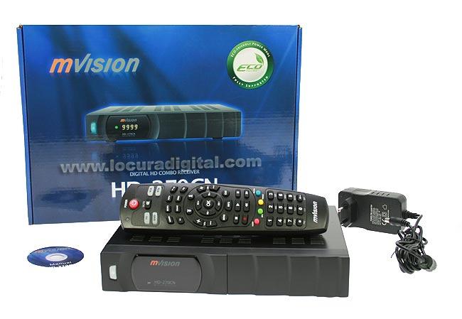 hd-270 cn mvision receptor combo hd satélite y tdt