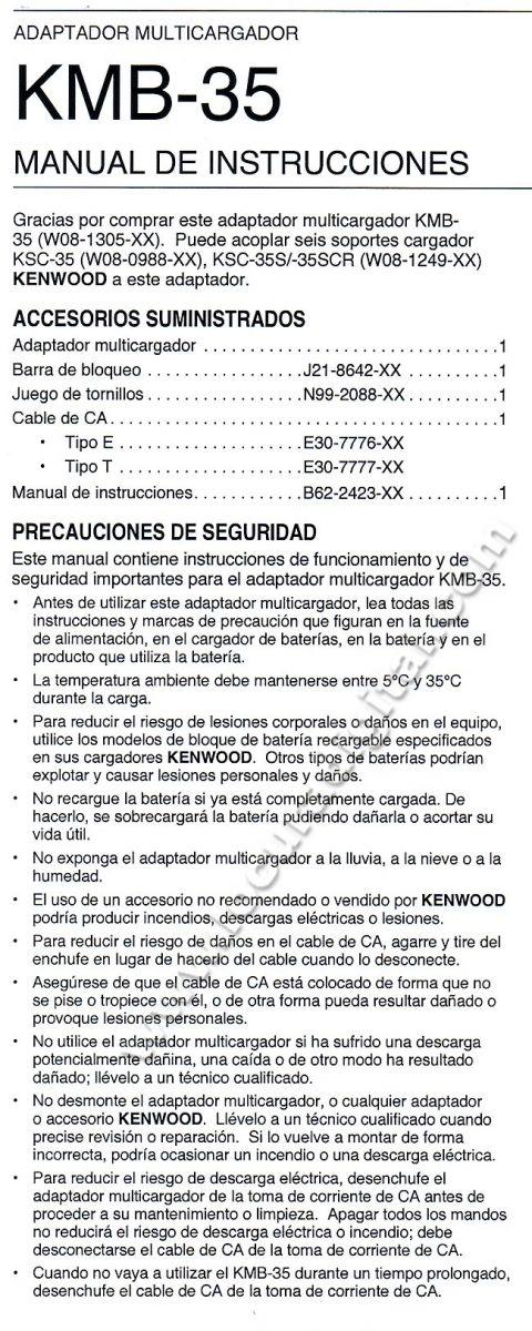 KENWOOD. KMB35