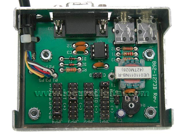 MFJ1273B MFJ interface de placa de som, BASIC, PSK31-DIGITAL, ECHOLINK