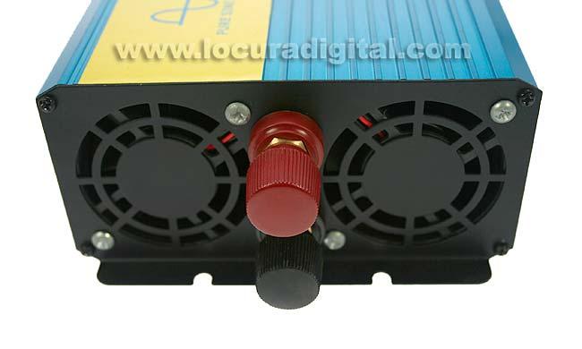 PSI200012 DCU Inversor 12 volts DC a 220 volt AC,2.000 wats. Onda Senoidal Pura