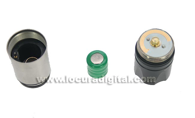 TLL03 Linterna LED recargable para encendedor mechero de vehiculo 12 volts.