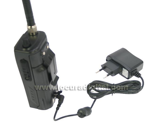 randyiip president randy ii portatil am/ fm walkie cb 27 mhz. bateria litio 2100 mah