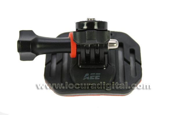 SDA04 ESA support de fixation incurvée   AEE SD19 caméra sport