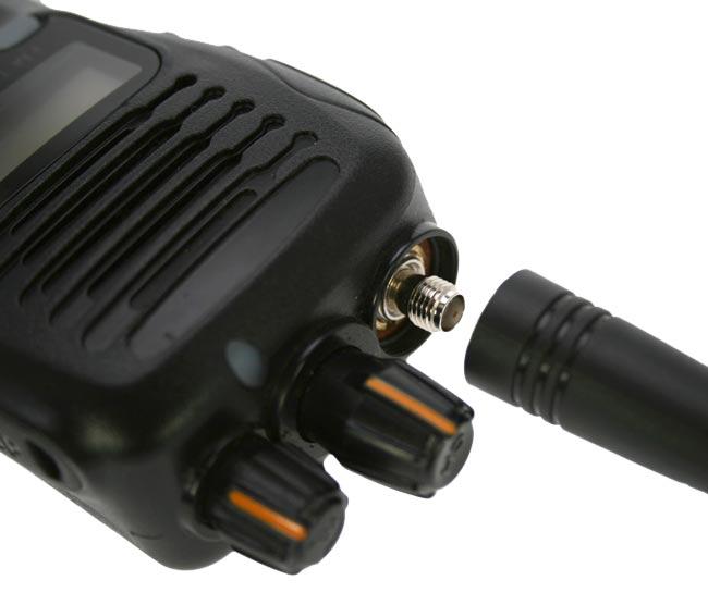 luthor tl-630. professional monoband vhf handheld
