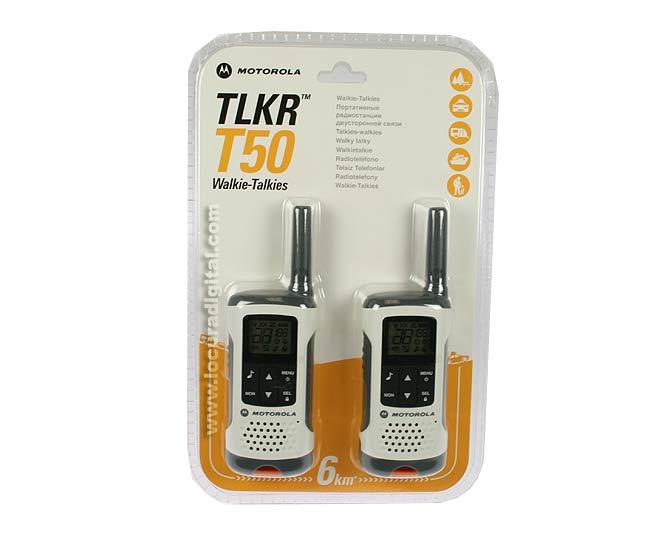 MOTOROLA TLKR TLKRT50-walkie PMR446 50 couples utilisation sans licence