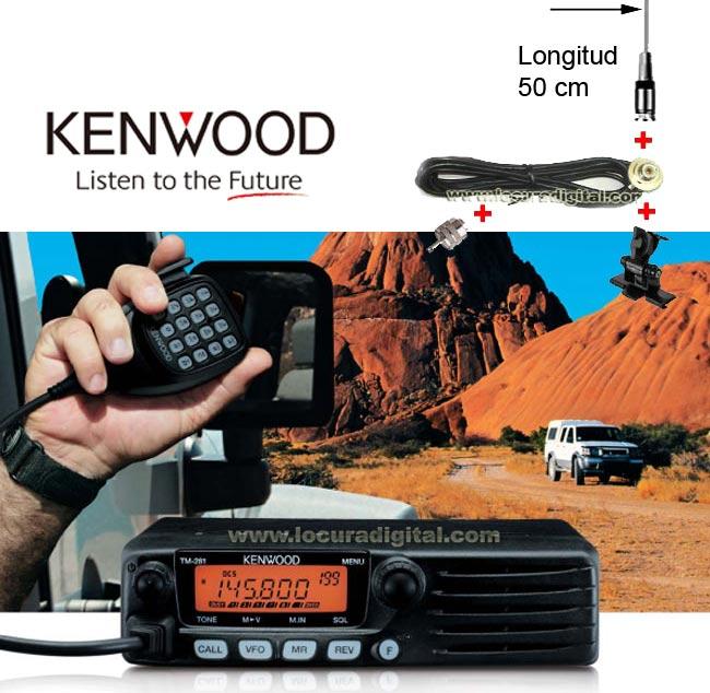 KENWOOD TM-281E Transceiver