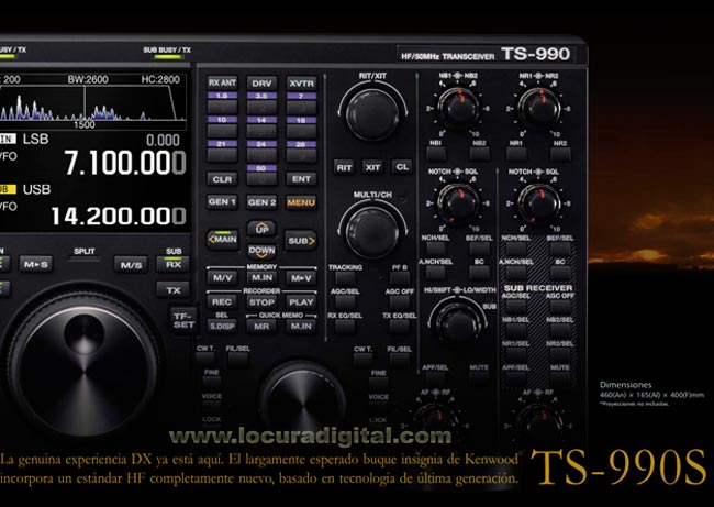 Kenwood TS-990-S