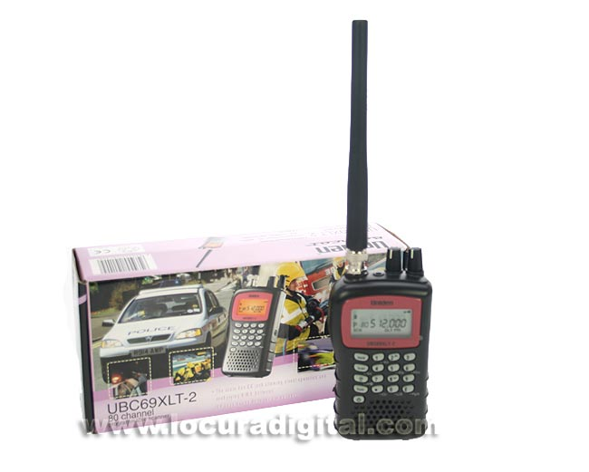 uniden bearcat xlt2 ubc69 xlt-ii scanner 69 25-87, 137-174 and 406-512 mhz.