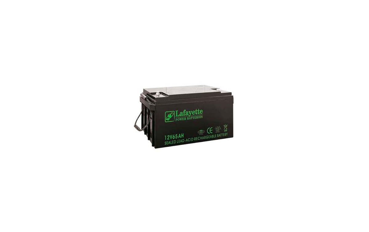 SW12650 LAFAYETTE Batería de Plomo Recargable 12 volts. 65 Amp.