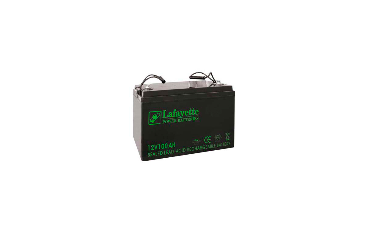SW121000 LAFAYETTE Batería de Plomo Recargable 12 volts. 100 Amp.
