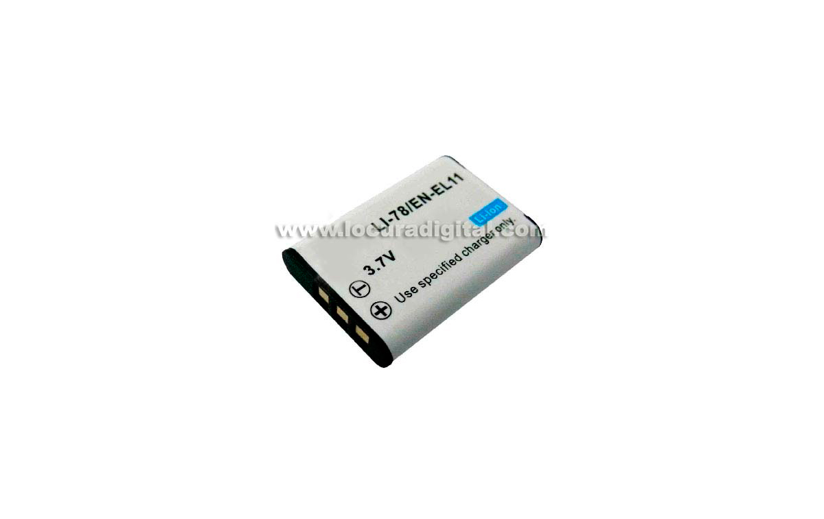 Batería DTL-L11 Li-Ion, compatible Foto nikon, 3.7V 620mAh