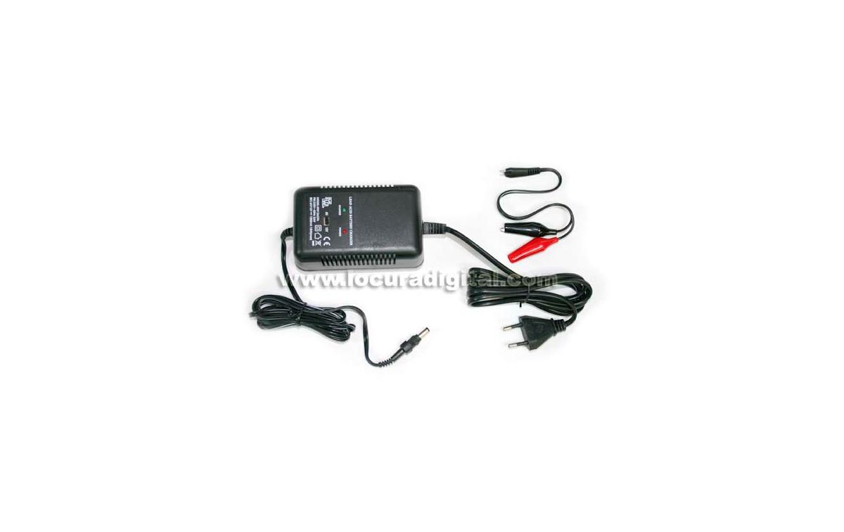 FULLWATT MW-126CPA Cargador baterías de plomo 6/12V 1500 mA