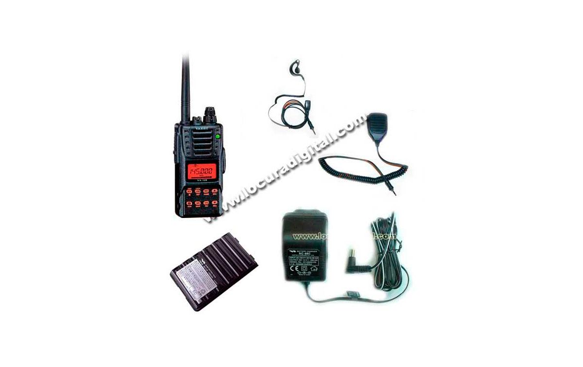 VX120E KIT 1. YAESU WALKIE VHF,  SUMERGIBLE !!      ---- WALKIE DESCATALOGADO POR YAESU, NUEVA VERSI
