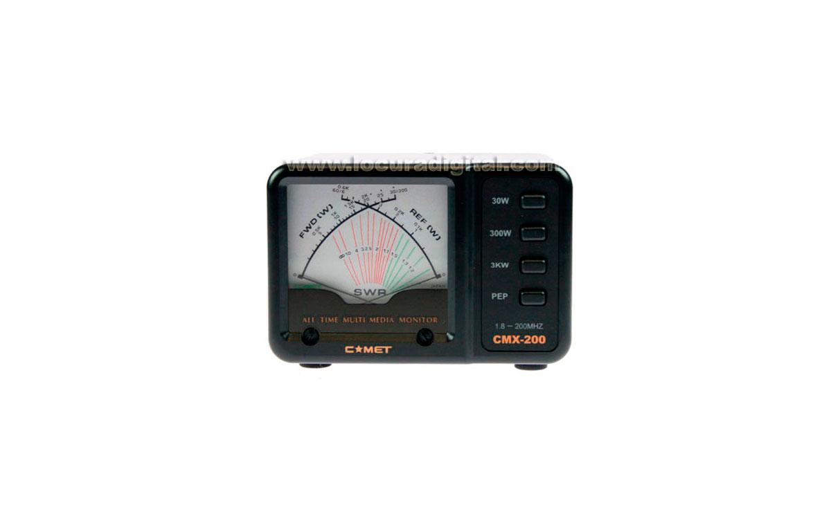 COMET CMX-200 medidor estacionarias 1,8 - 200 Mhz.
