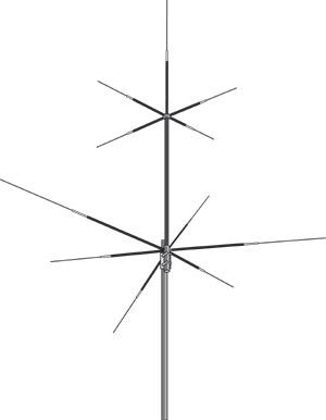 hvu8 hoxin antena movil hf-v-u 8 bandas: 3,5-7-14-21-28-50-vhf-uhf