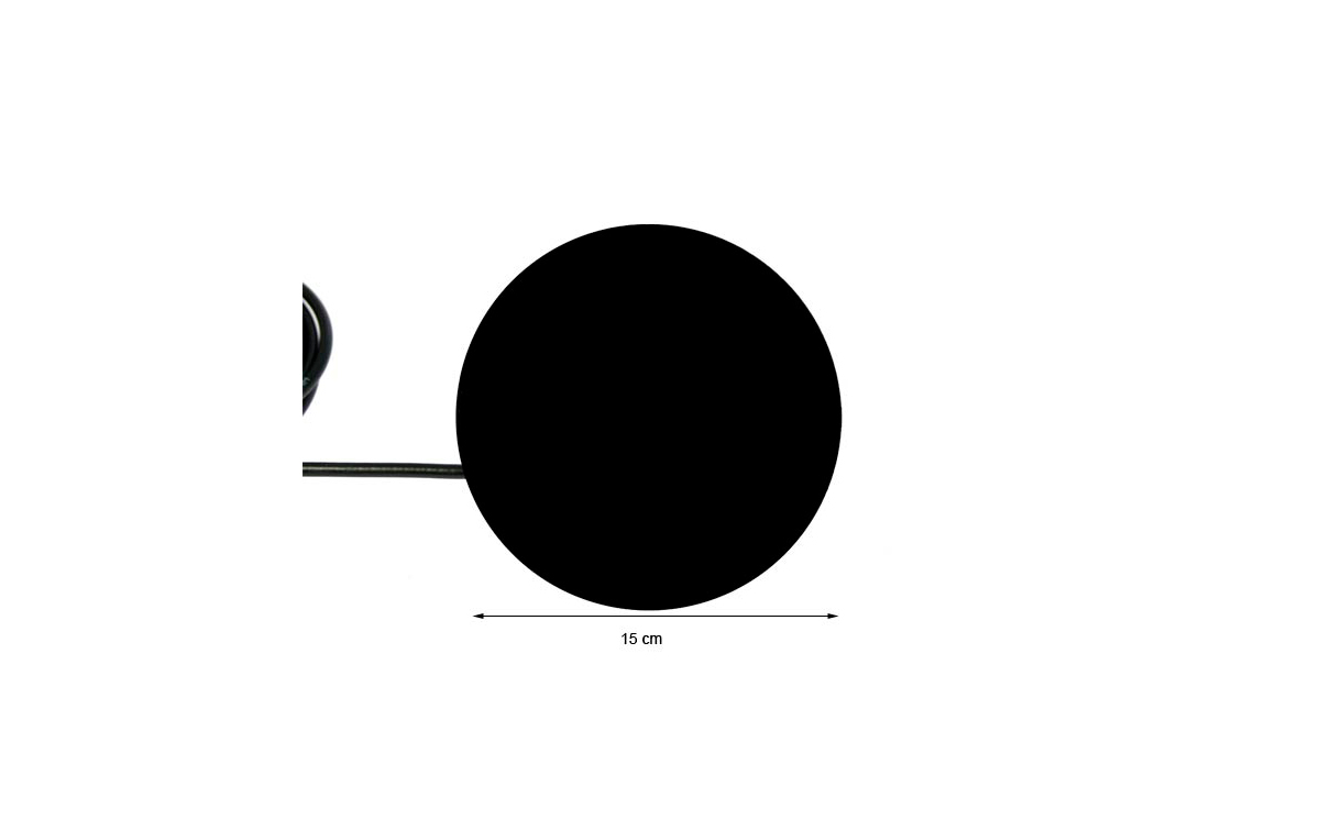 bm151s mirmidon báse magnética 15 cm. tipo dv palomilla 4,5 mts. rg-58 pl259 macho