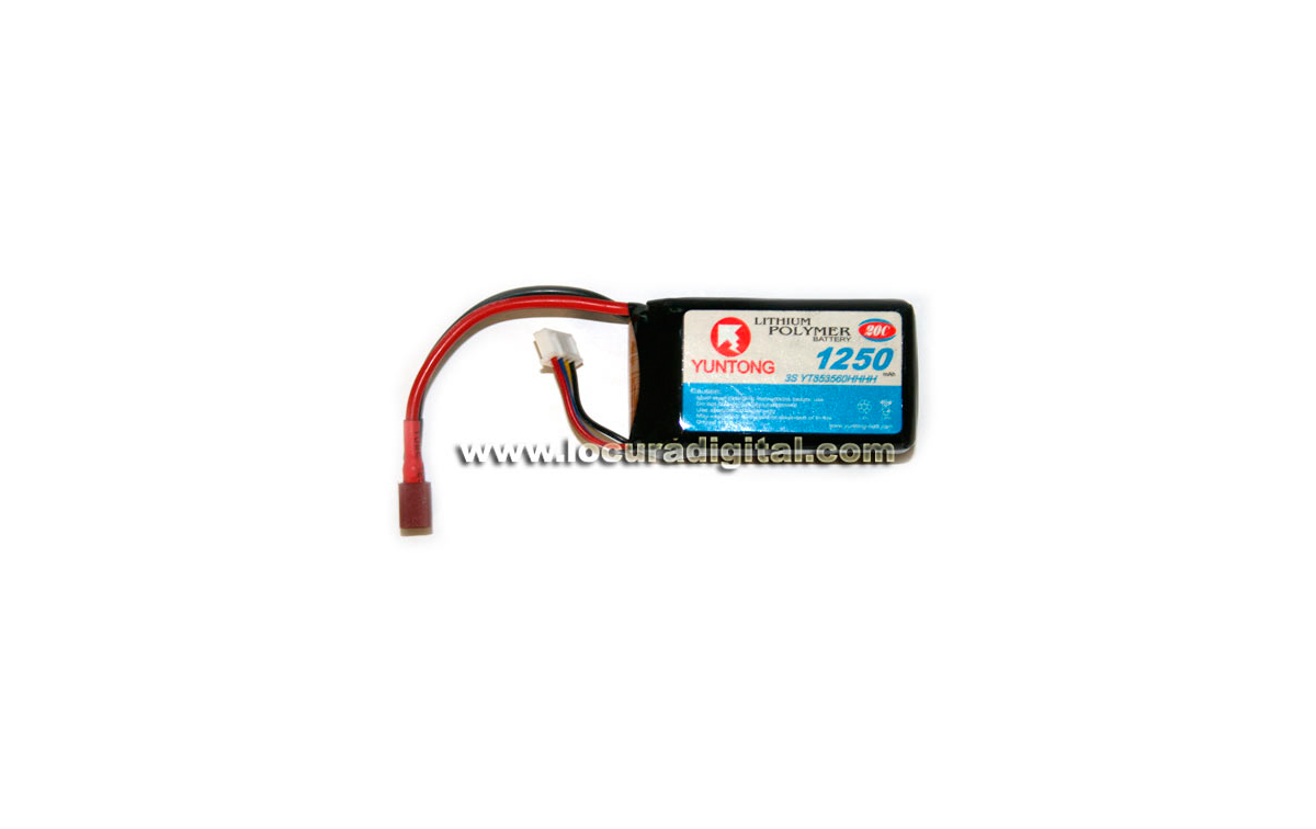 FULLWAT 3S YT853560HHHH Batería Radiocontrol Li-Po 11,1V 1250mAh