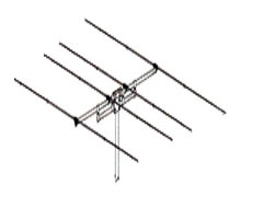 SIRIO SY27-4. Base station antenna; Directional; High-gain; 4 element Yagi for CB