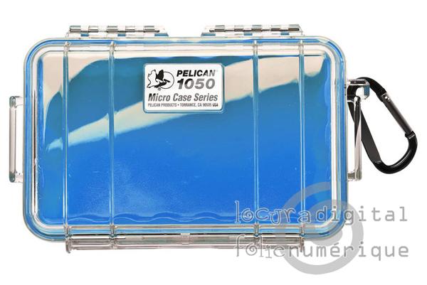 1050-026-100E Micro-Clear Protective Case-Blue