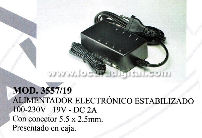 ALIMENTADOR  ELECTRONICO ESTABILIZADO IDEAL PARA ORDENADORES DE COLEGIO TOSHIBA.