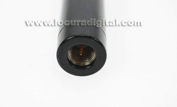 SRH701SHOX HOXIN Antena bibanda para walkies. 144 / 430 Mhz. SMA, 22 cms.