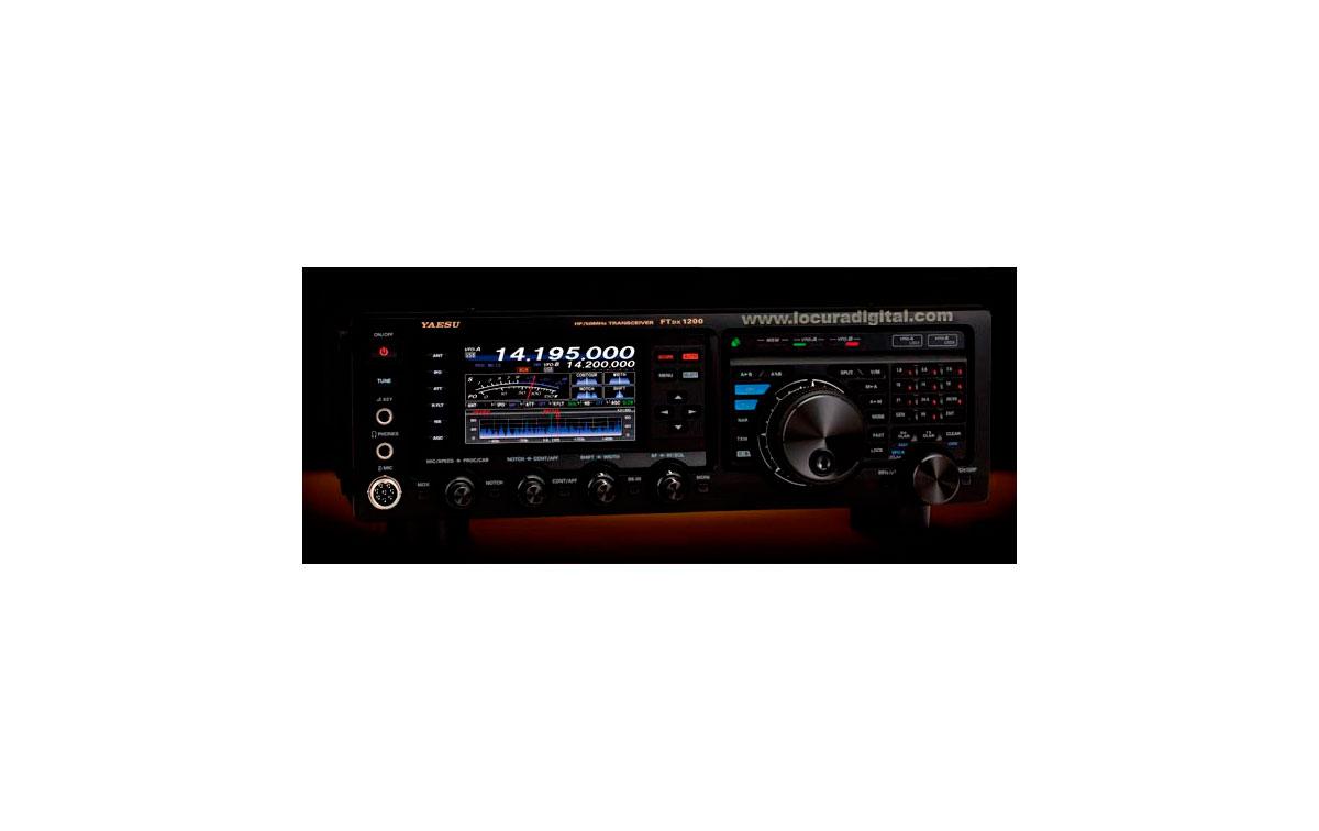 FTDX1200 YAESU Emisora HF/50 Mhz