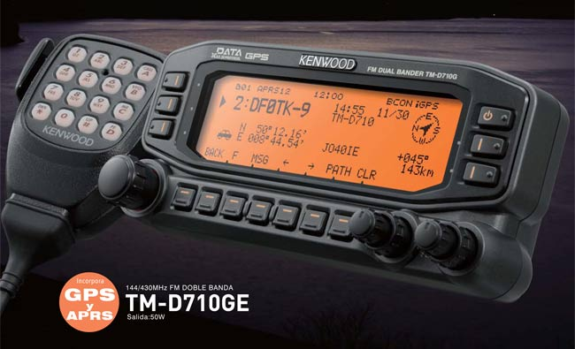 KENWOOD TM-D710G Transceiver