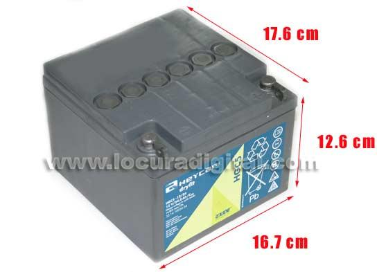 HEYCAR EXIDE TECHNOLOGIES HGC5-12 24 G5