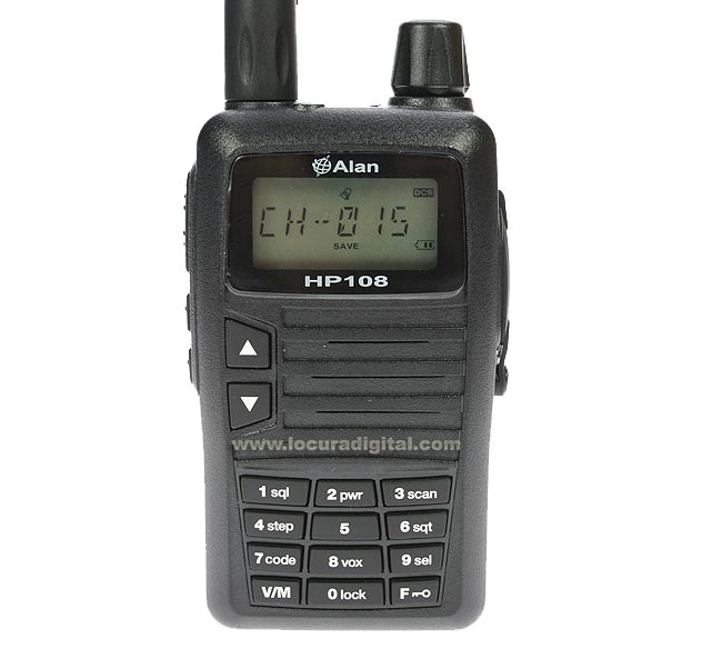 ALAN HP108 professionnelle talkie-Midland VHF 136-174 MHz.