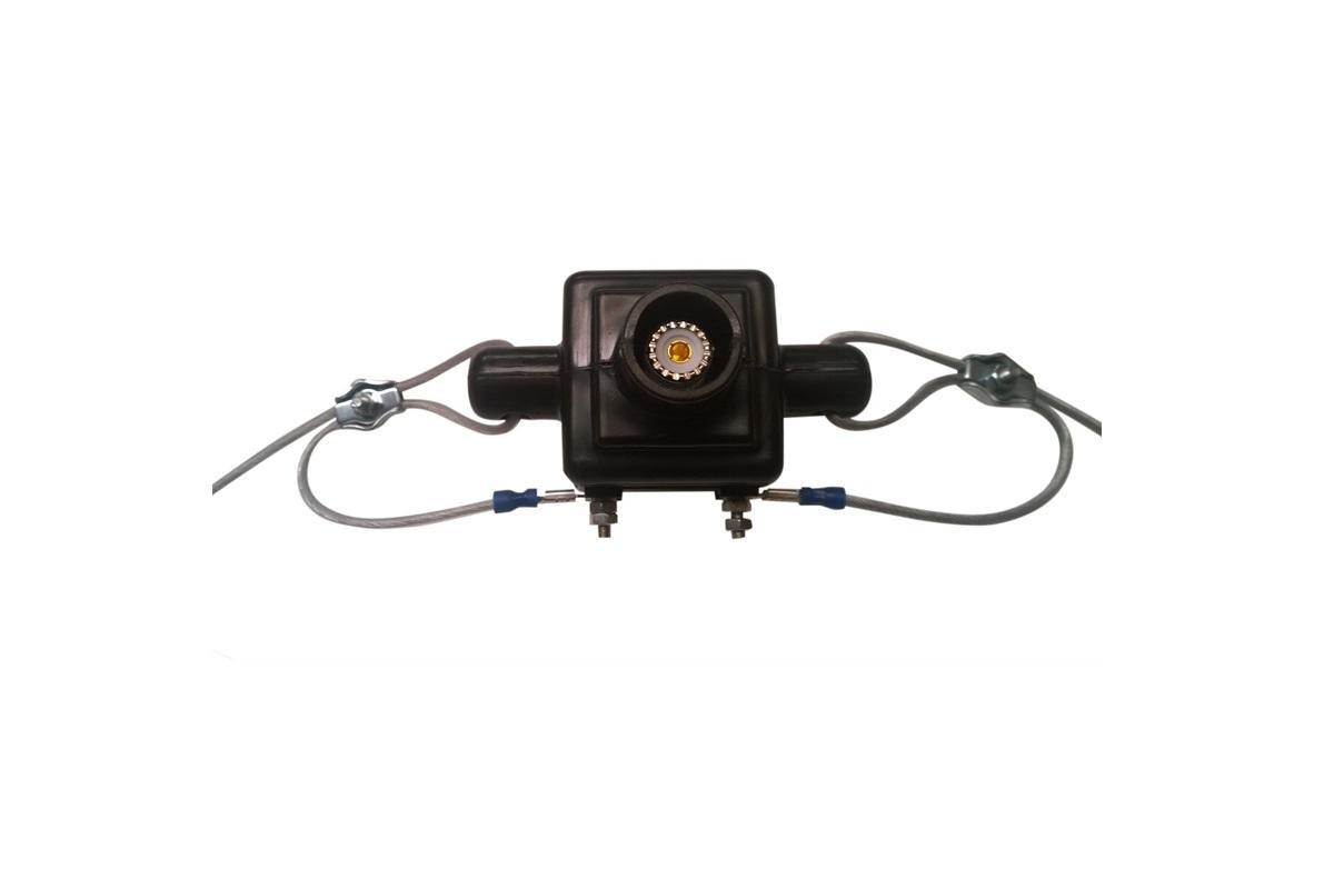Antena dipolo tipo WINDOM DDK-20 bandas 80-40-20-15-10