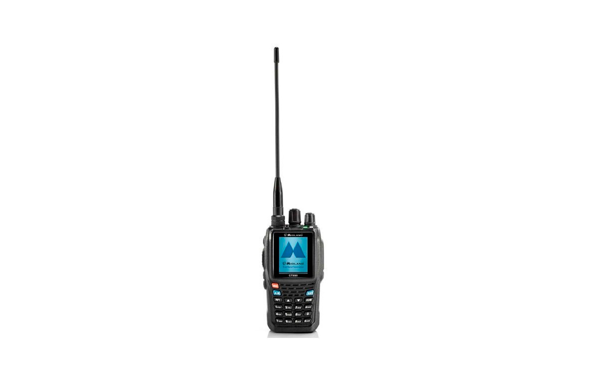 CT890 MIDLAND Walkie doble banda VHF 144-146, UHF 430-440 Mhz.