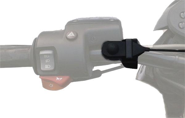 SP2 KIM-55-Nauze. Kit oreillette microphone pour une utilisation avec un casque. Sepura pour walkies
