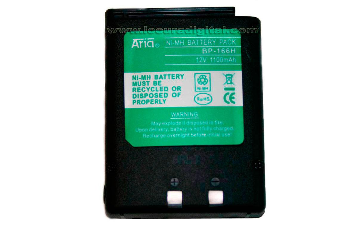 BP166HEQ Bateria compatible ICOM , 12 volt. 1100 mAh. Mh.