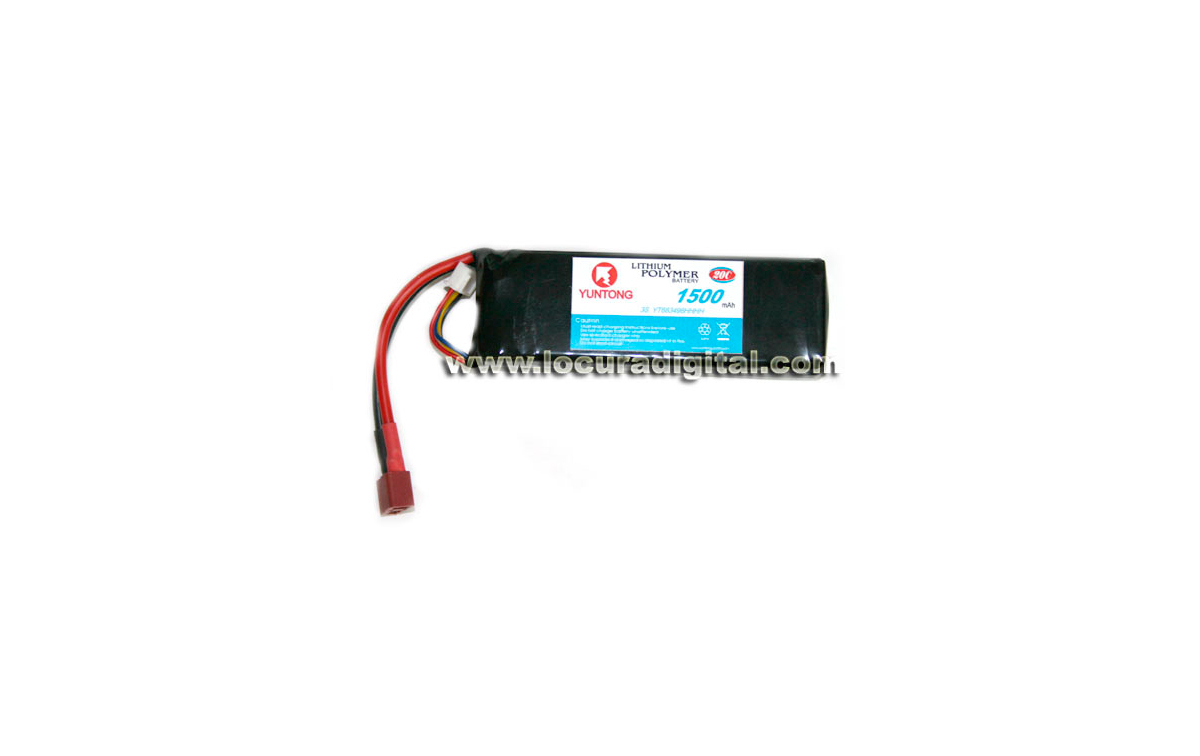 FULLWAT 3S 683496HHHH Batería Radiocontrol Li-Po 11,1V 1500mAh