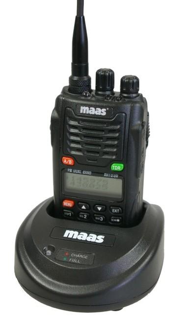 WOUXUN AHT2UV MAAS walkie bibanda VHF/UHF