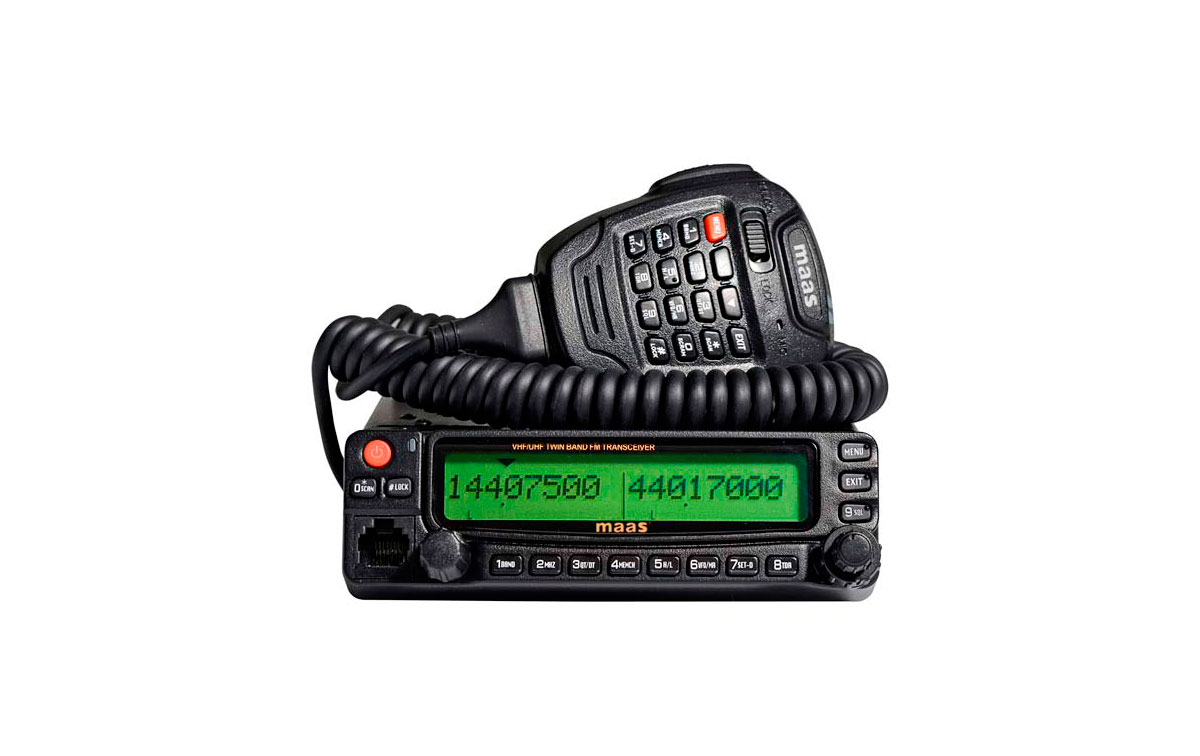 AMT920UV MAAS EMISORA BIBANDA VHF/ UHF 144/430 MHZ