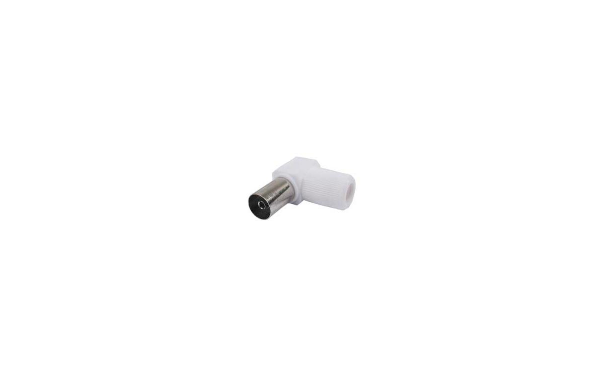 MP-0563 Conector Hembra angular TV coaxial IEC