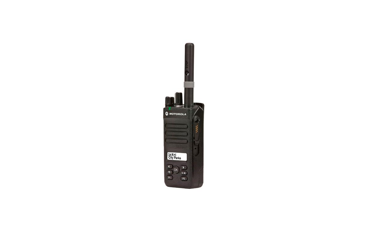 MOTOROLA DP2600 VHF DMR Walkie talkie Profesional Digital