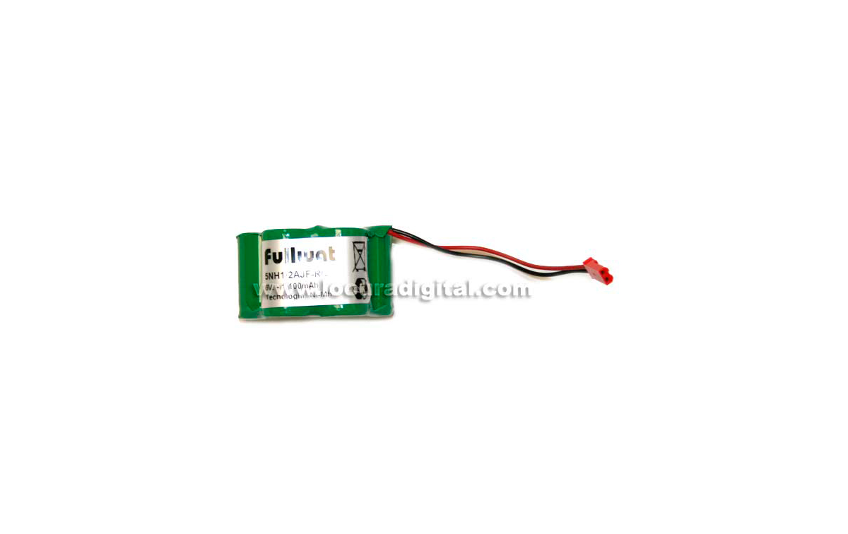FULLWAT 5NH1-2AJF-RC Batería Radiocontrol Ni-Mh 6V 1100 mAh